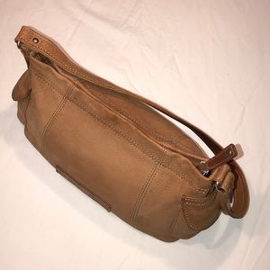 Fossil Satchel Leather Bag Brown/ Tan